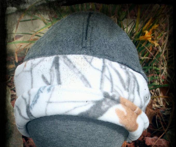 Zipper pockets in a HAT? You bet!