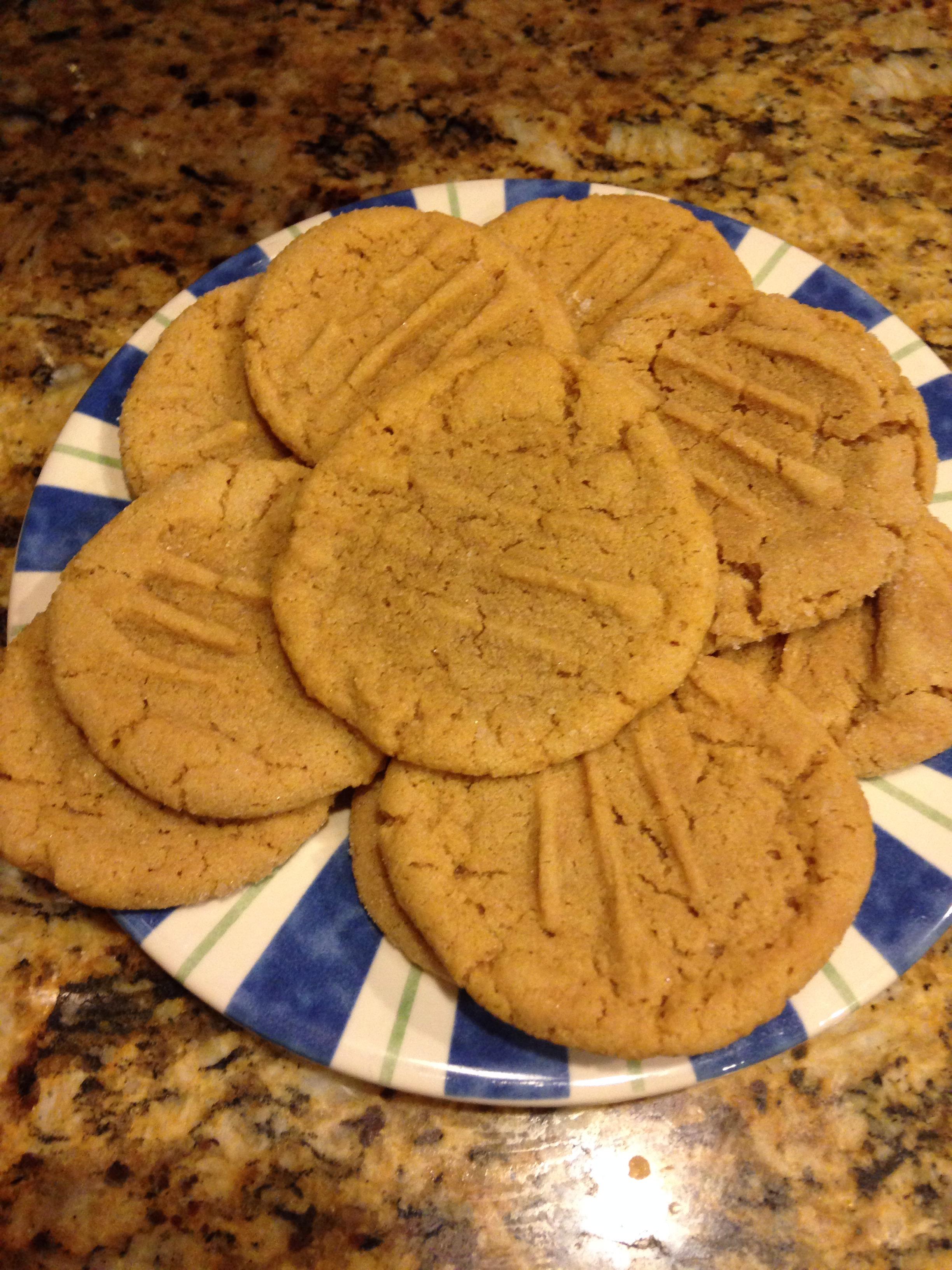 World-Class Peanut Butter Cookies