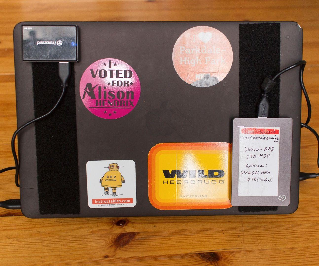 Better Laptops Through Velcro