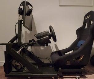 Compact Sim Racing Pod