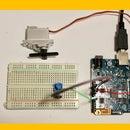 Servo Motor + Potentiometer + Arduino: Potentiometer-Controlled Servo