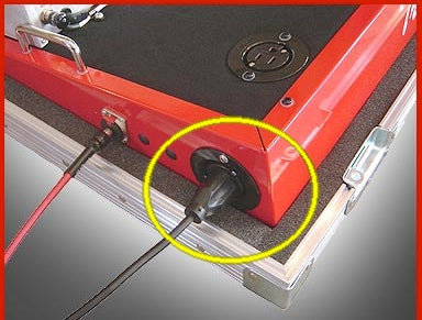 Screw in the Neutrik Jacks and Start Setting Up Your Guitar/power Cables
