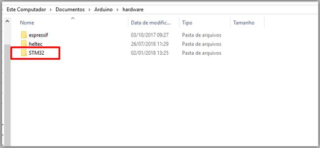 Installation on the Arduino IDE