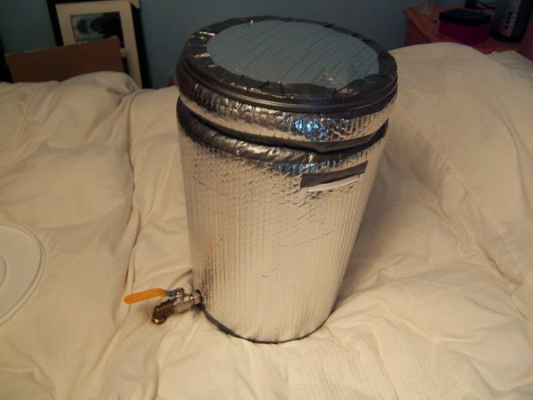 Build Your Own Brewery for Under £100 ! - STEP 1 - Mash Tun