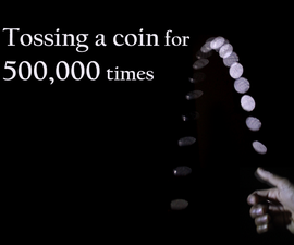Coin Tossing Machine