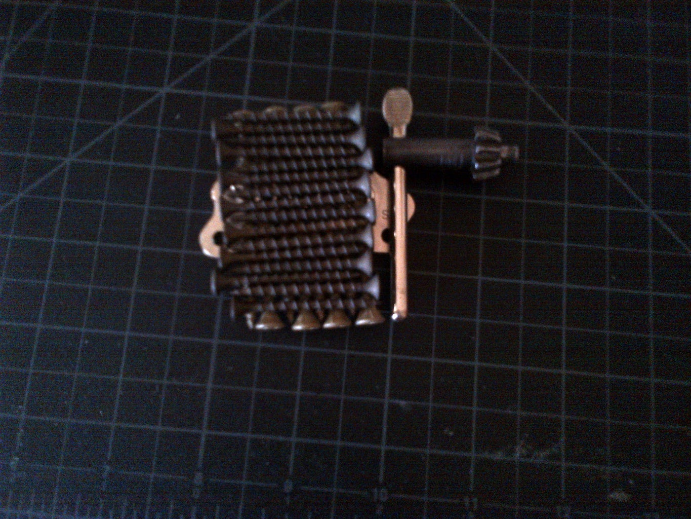 Simple Magnetic Parts Holder
