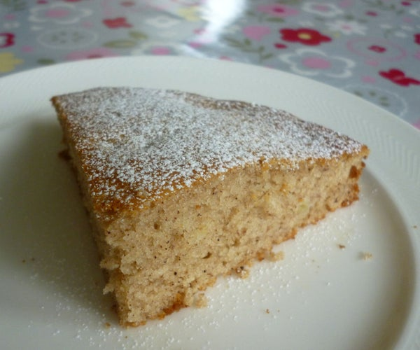 Quick & Easy Banana Cake - MADE IN a BAG!