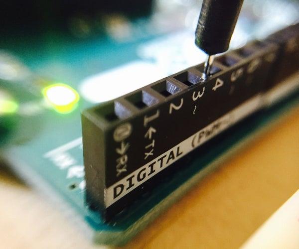Primer Programa De Arduino
