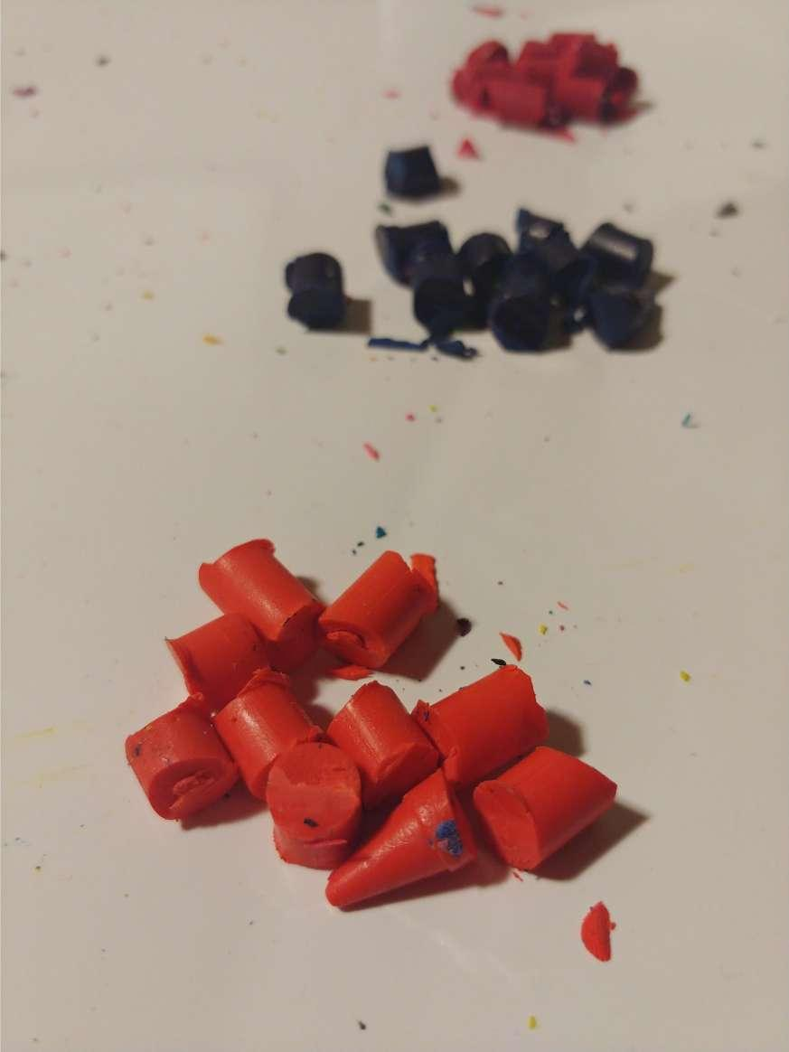 Chop the Second Layer of Crayons