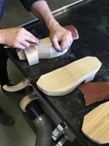 Sculpt Wood Clog Platform
