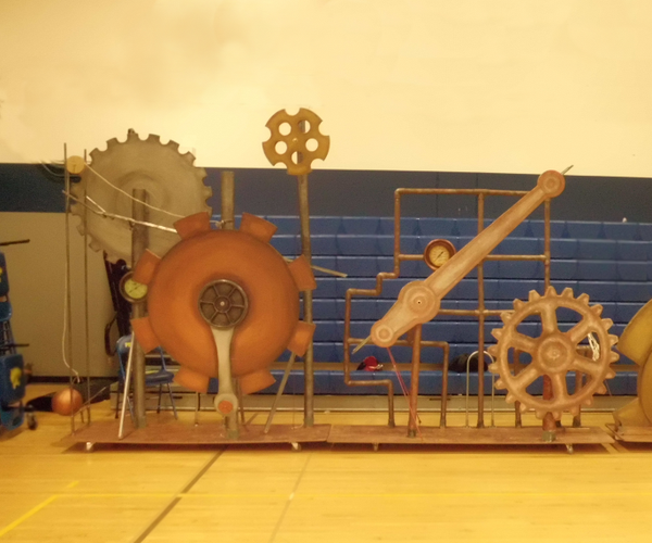 Lightweight Steampunk Props