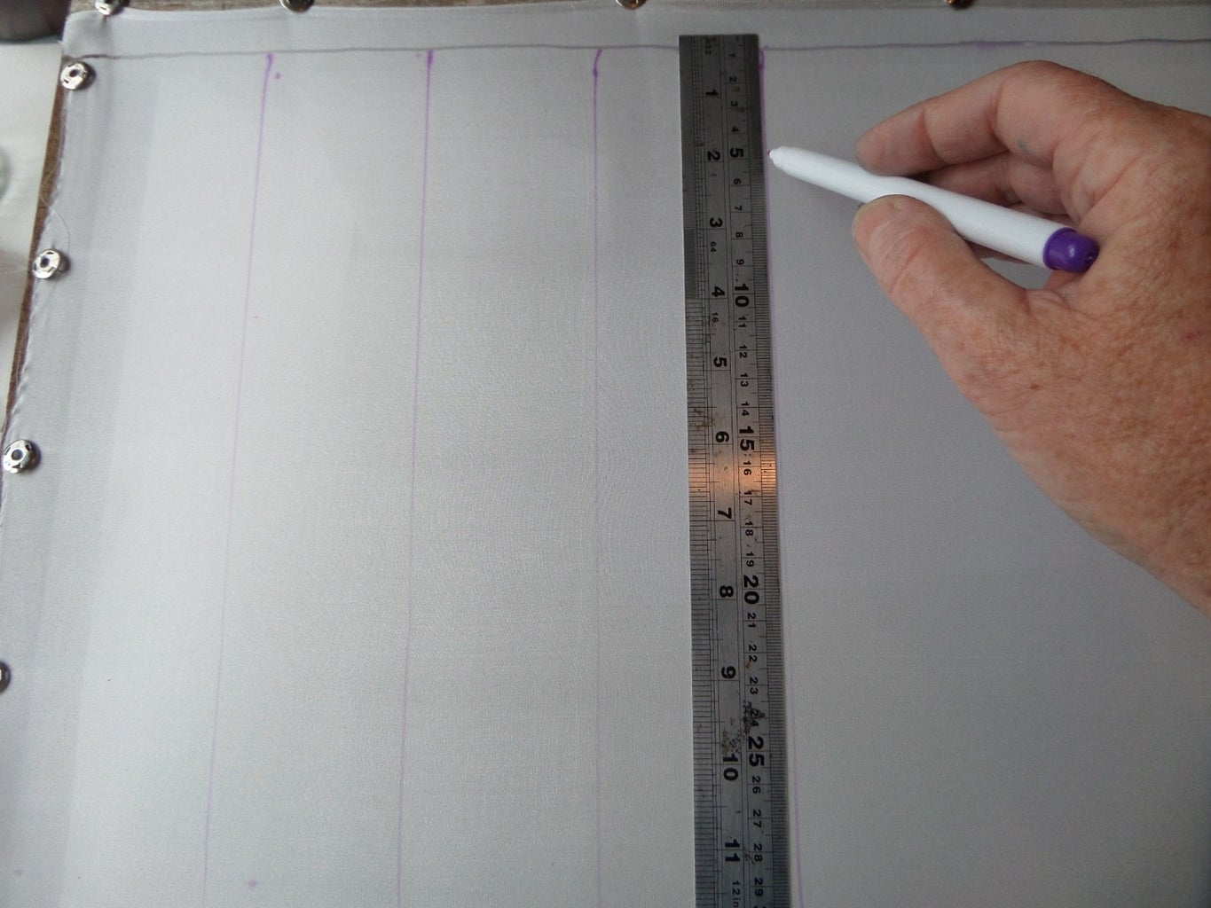 Stretching the Silk and Using the Autofade Pen