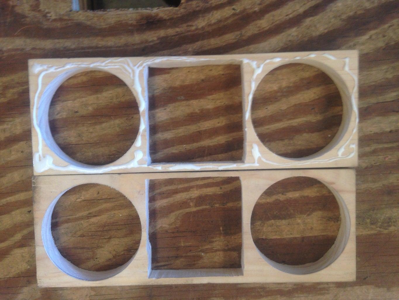 Glue 2 Pieces of Pine