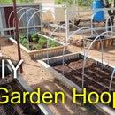 Making Garden Bed Hoops