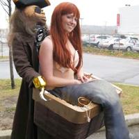 Kidnapped Mermaid Costume