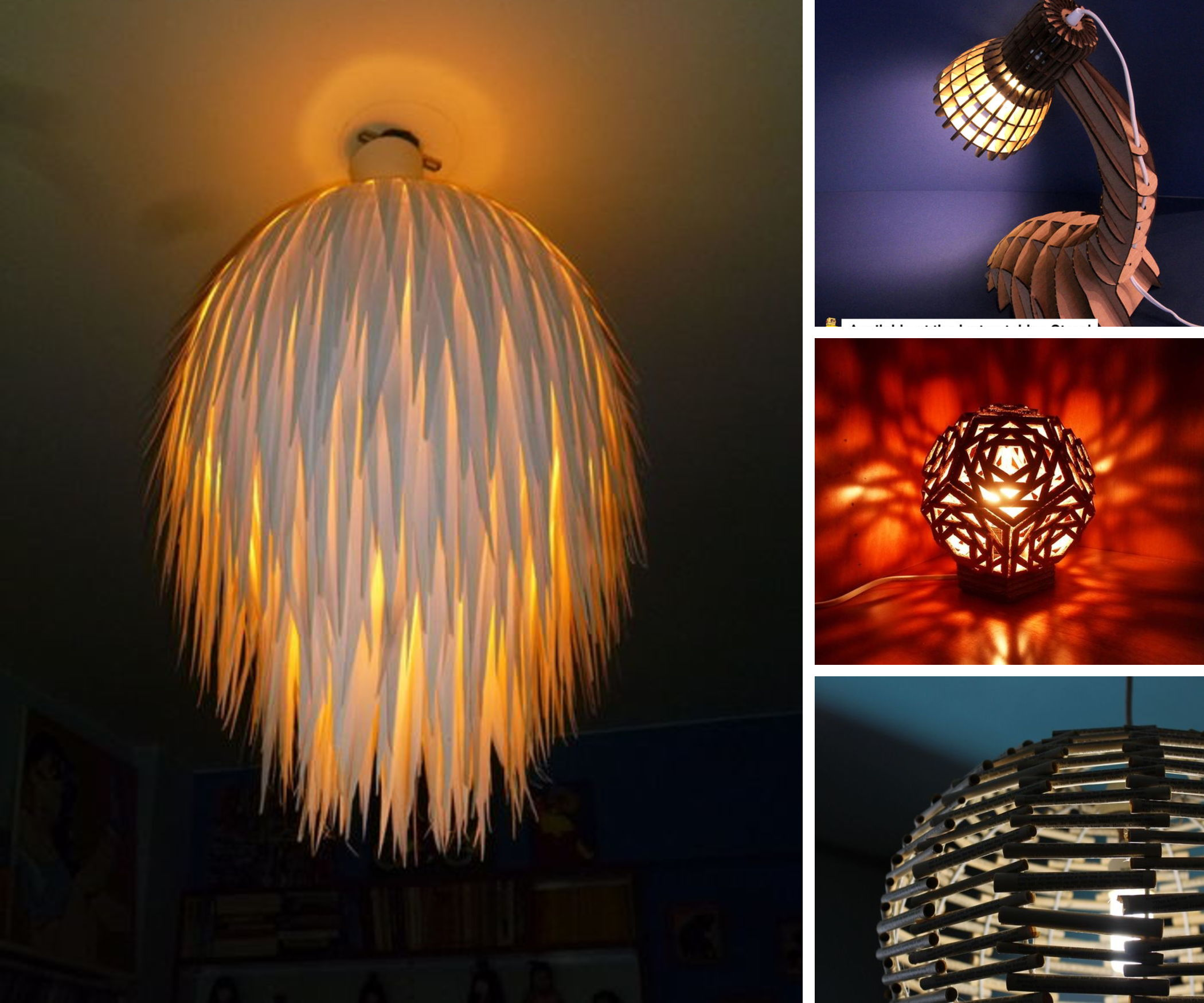 25 Stunning Paper Lamps
