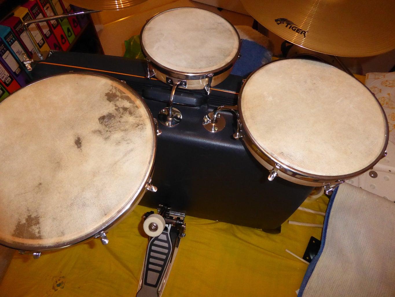 Suitcase Drum Set
