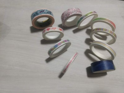 Enrollar Washi Tapes / Roll Washi Tapes
