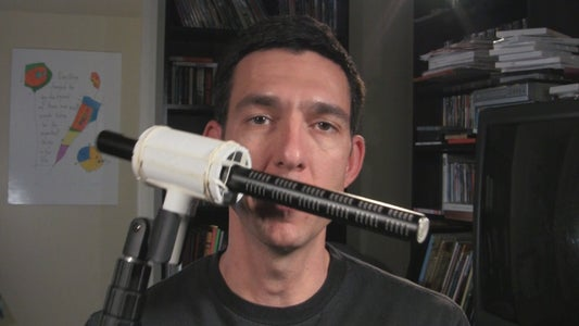 Make a PVC Microphone Shockmount for $1.20