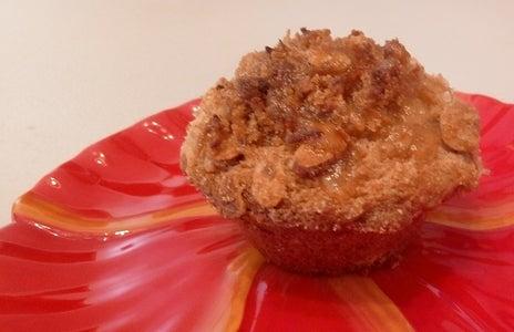 Whole-Grain Pineapple-Almond Muffins