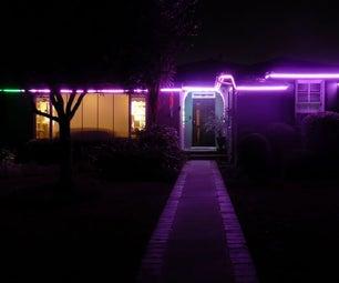 Permanent Digital LED House Holiday Lighting