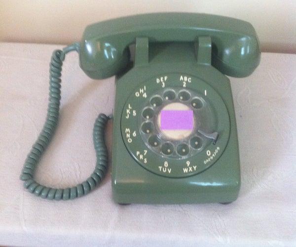 Raspberry Pi in Rotary Phone