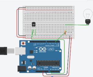 Automatic Reading Lamp (Arduino)