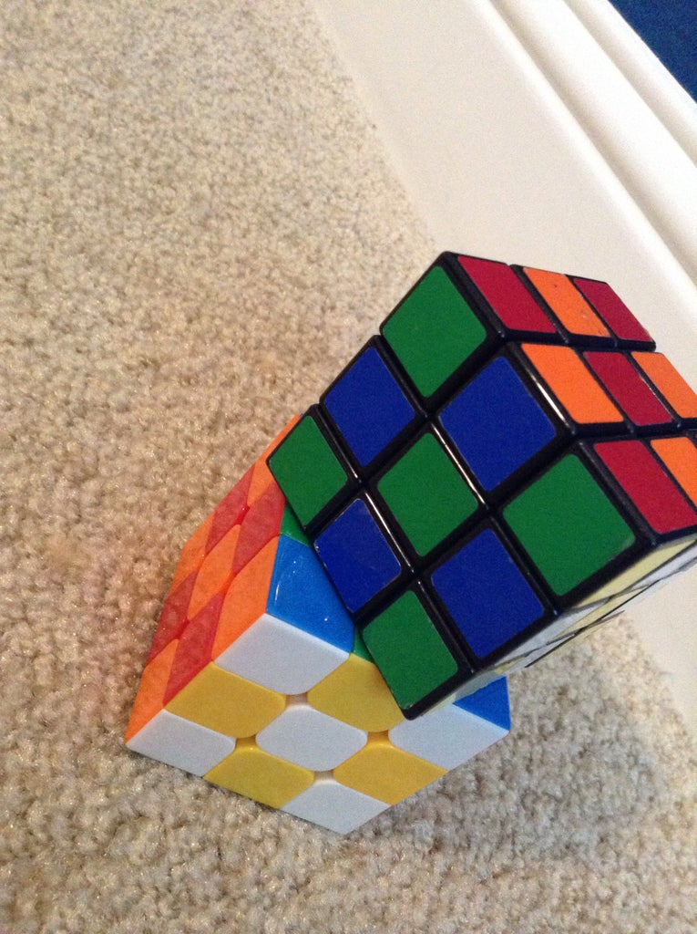 How to Make a Cross Pattern on the Rubik's Cube