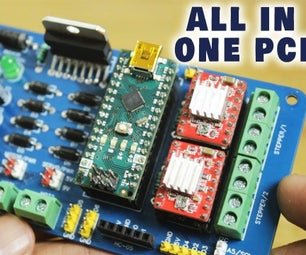 All in One Multipurpose PCB for Arduino Projects