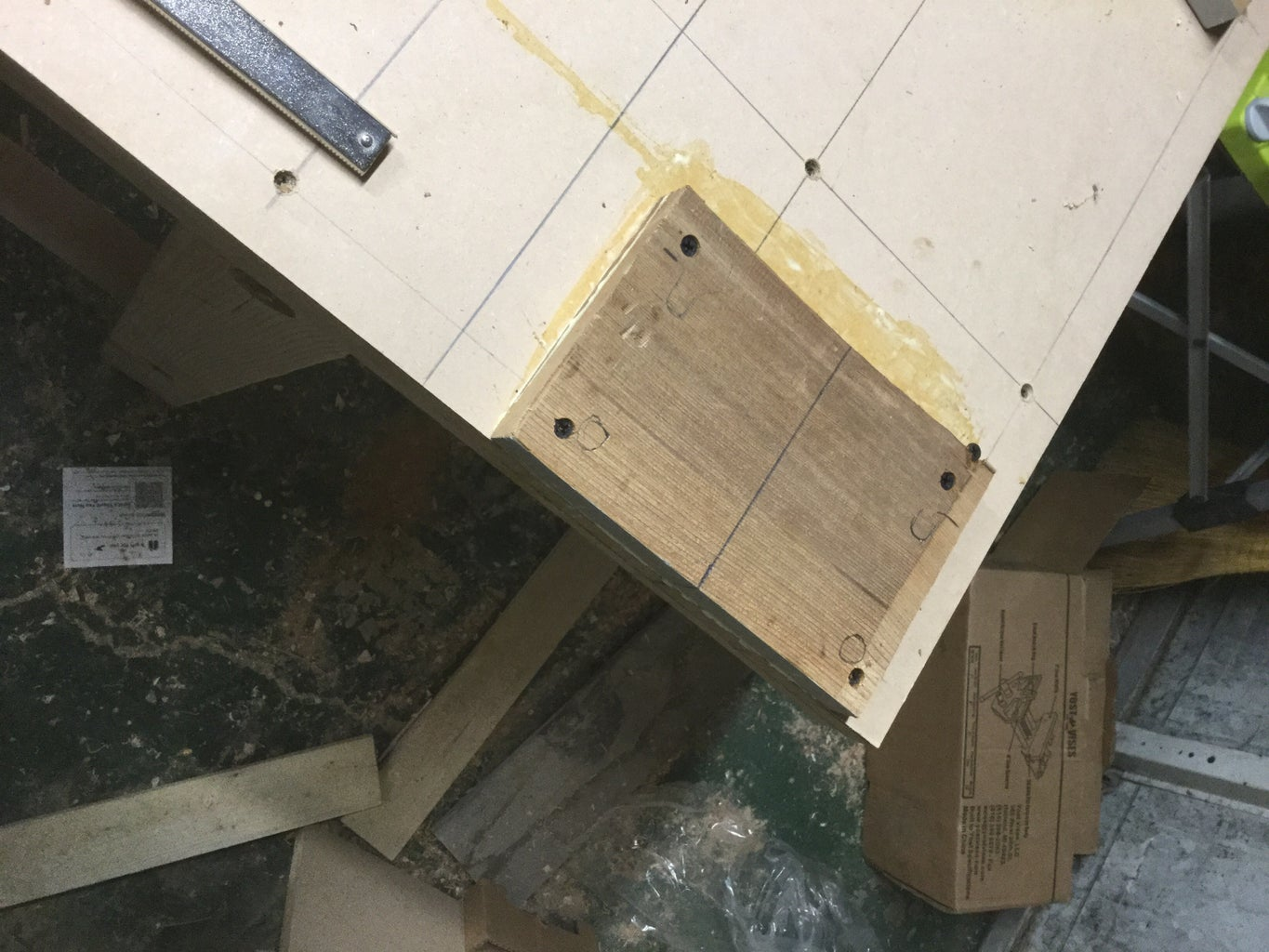 Mounting Block for Vise