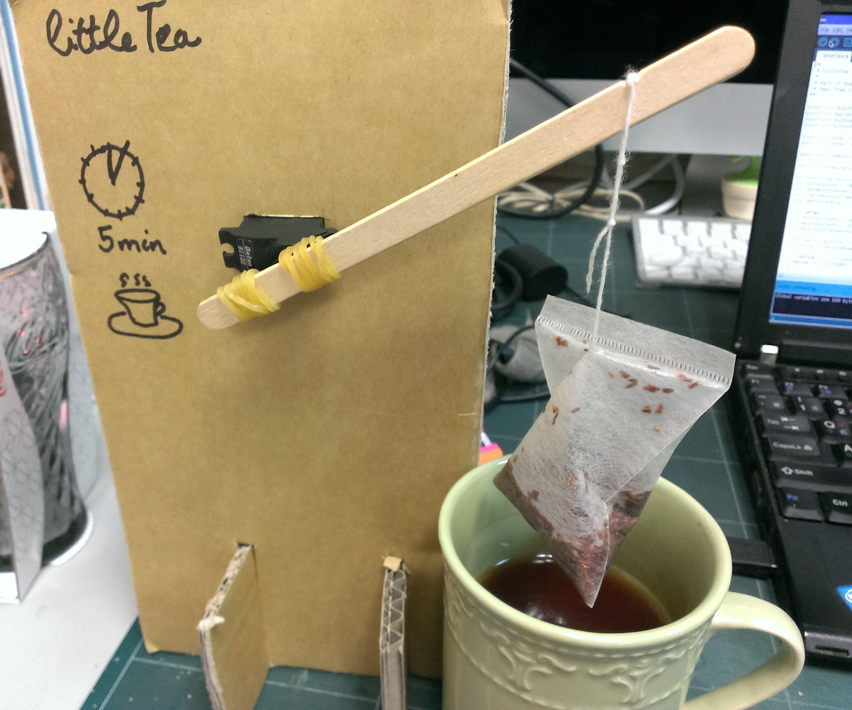 littleTea: robotic tea brewing