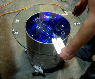 Build an Electrolux LED Side Table