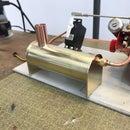Condenser Oil Trap for a Small Steam Engine