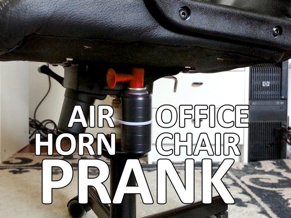 Air Horn Office Chair Prank