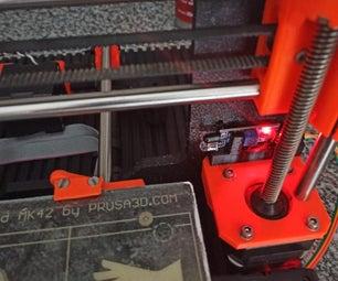 3D打印在玻璃 - 玻璃验证与红外传感器
