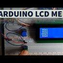 Arduino LCD Menu - Simple Tutorial