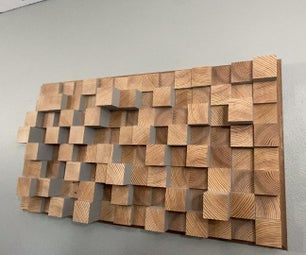 Skyline Sound Diffuser - Wall Art