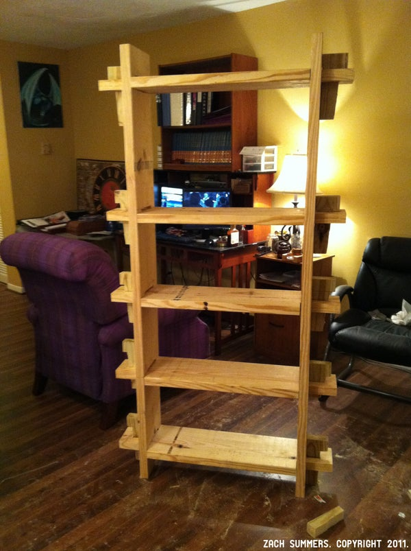 Nomadic Life 1: Bookcase (Trial & Error)