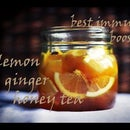 DIY: Best immune booster - Lemon, ginger, honey tea..