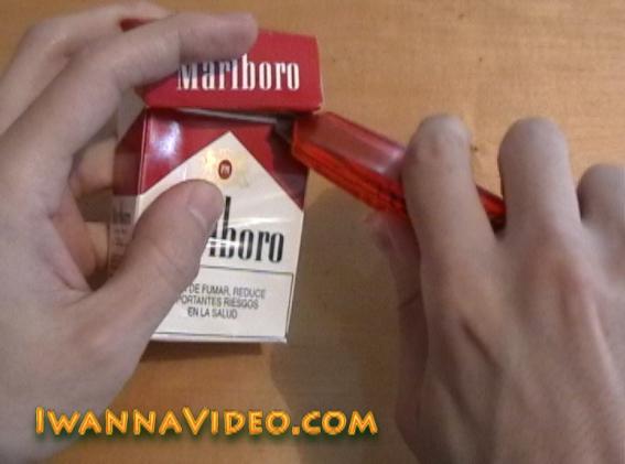 Marlboro cigarettes box to polo Shirts