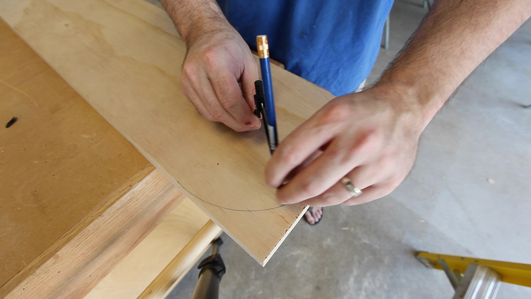 Marking and Drilling the Sides