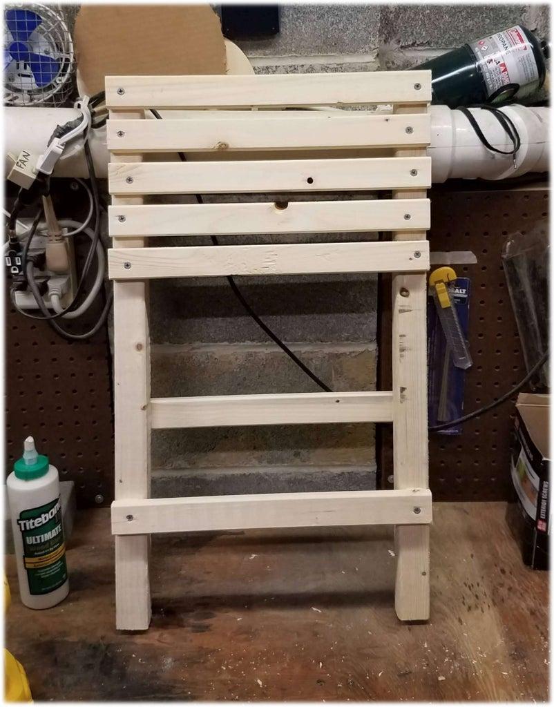 The Build. Pt1 - the Backside Piece