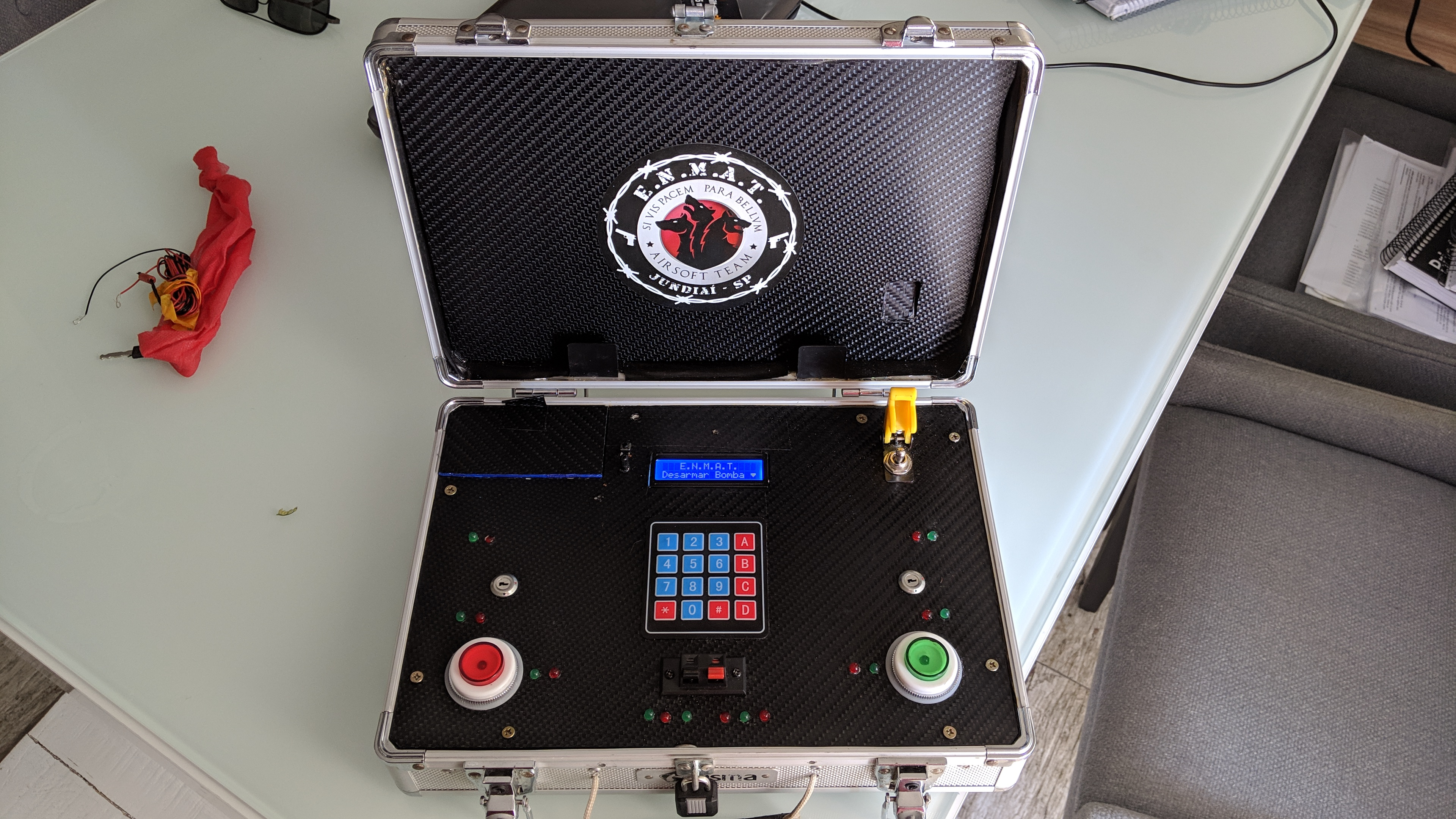 ARDUINO AIRSOFT TIME BOMB GAME