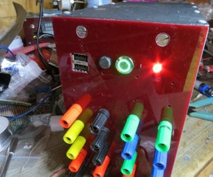 Latching Momentary Switch for ATX PSU Conversion