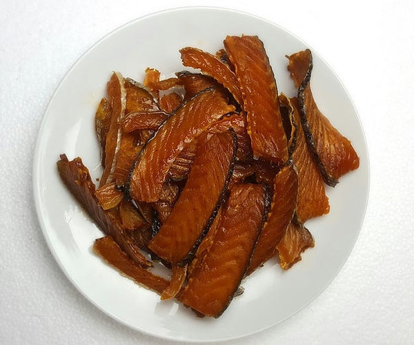 Salmon Jerky (Dog Treats)