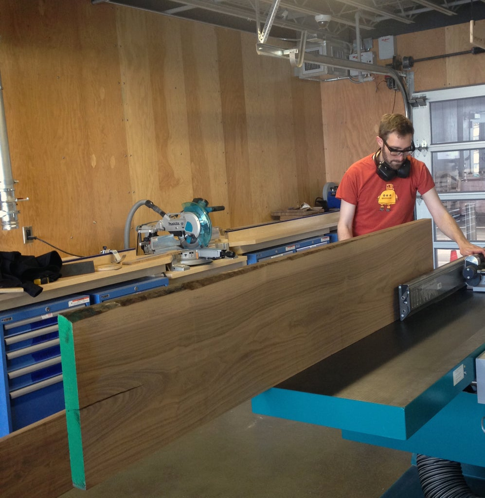 Jointing and Planing the Wood