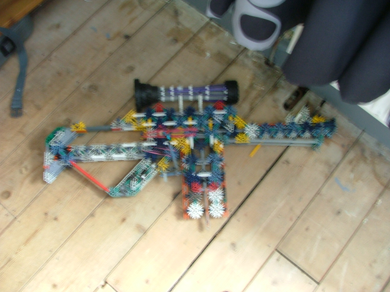 amazing knex assault rifle
