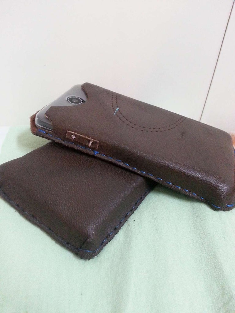Ultra Dirt Cheap Phone Case From Old Leather Work Boots.