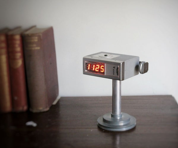 Vintage Flash Clock