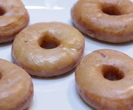 Homemade Glazed Doughnuts Krispy Kreme Style